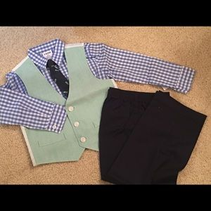 IZOD Fish New England Style Boys Suit